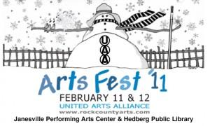 LogoArtsFest Info 300x180 Performance: Saturday, February 12th ~ 1pm ~ Janesville Performing Arts Center